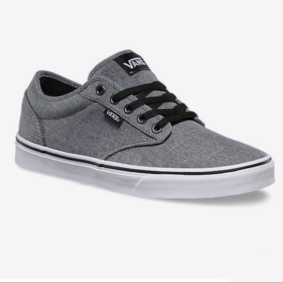 Vans Shoes | Vans Atwood Gray Lace Up